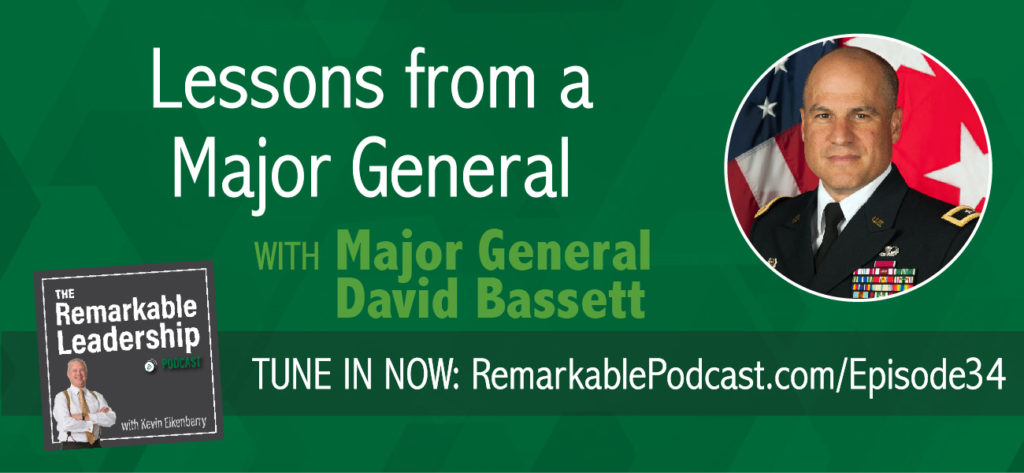 Leadership is leadership, according to Major General David Bassett, Program Executive Officer for Ground Combat Systems. In today's episode, Major General Bassett shares insight to leading and managing high visibility and high dollar programs. He challenges us to understand our role within the organization and recognize that if we have to use our title/position to get what we want we haven't properly instilled the values of the organization.
