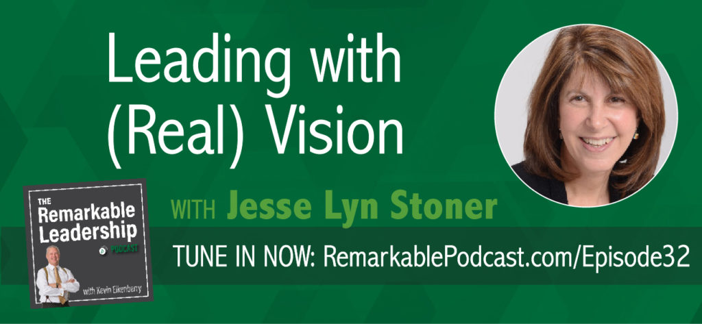 There is more to vision than the end result; you need to be clear of the purpose. Jesse Lyn Stoner, founder of the Seapoint Center for Collaborative Leadership and international best-selling author of Full Steam Ahead! Unleash the Power of Vision, co-authored with Ken Blanchard, shares her research and personal journey to understanding leadership vision.