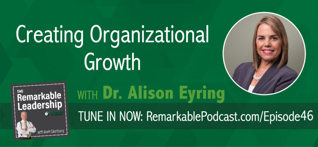 "Organizations that grow focus on focus. This allows them to prioritize and allows them to say ""no"". Join Kevin and Dr. Alison Eyring, Founder and Chief Executive Officer, Organisation Solutions, as they discuss growth philosophy in both work and sport. Alison, a trained organizational psychologist, helps us understand performance, our capacity, and competence in roles. In addition, she has lived in Asia for the past 20 years and brings us a different cultural perspective."