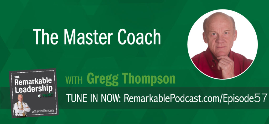 A coaching conversation starts with you and your intention. How will you try to be helpful in your interactions with others so they walk away feeling inspired or leaning a new perspective? Gregg Thompson, author of The Master Coach, and President of Bluepoint Leadership, joins Kevin to discuss coaching as a discipline and the impact on performance and career acceleration.