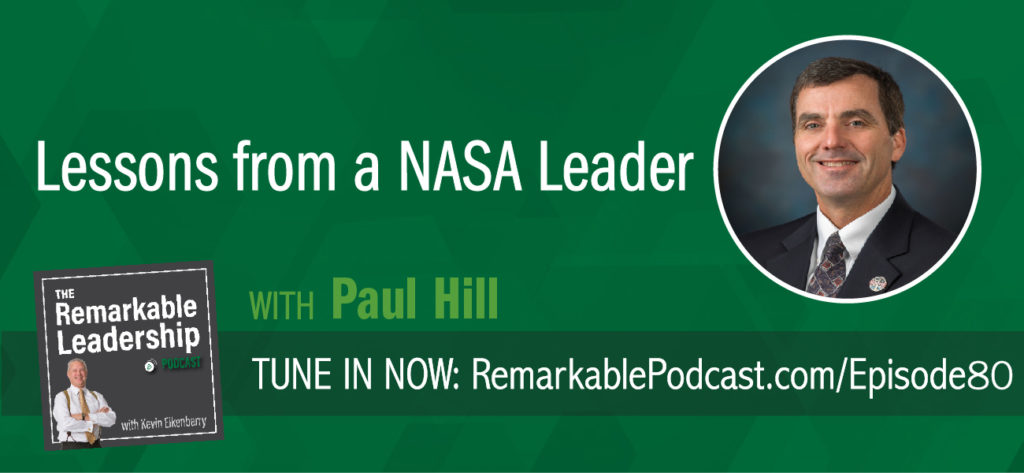 "Engineers and space aficionados, as well as leaders, this episode is for you. Paul Hill spent 25 years in NASA's Mission Control, learning and living the values he now evangelizes. He is the author of Leadership from the Mission Control Room to the Boardroom and joins Kevin to discuss rocket science, learning from the past, and management. He offers an insider's perspective on the leadership values and culture that have been critical for NASA's ""impossible"" wins."