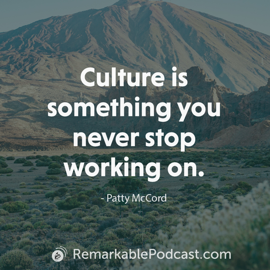 Culture is something you never stop working on.