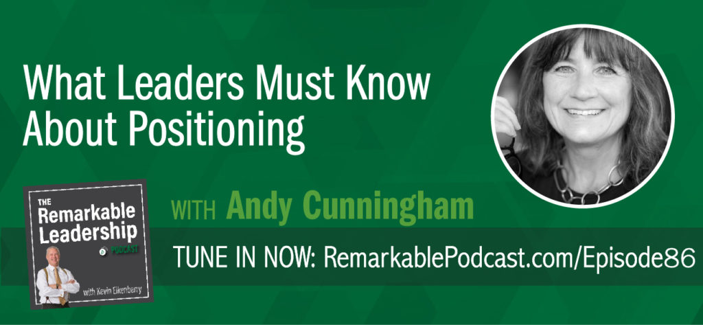 Andy Cunningham knows that positioning is more than just a marketing term, it is the formulation of a business strategy. Andy is the author of Get to Aha! Discover Your Positioning DNA and Dominate Your Competition and shares the framework she uses to transform markets and industries. Regardless of your title within the organization, you need to understand your company's DNA to create alignment and clarity within your team.