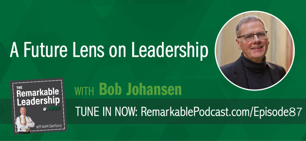Does your forecasted future provoke an insight that leads to action? Bob Johansen is a distinguished fellow with the Institute for the Future and author or co-author of ten books. Bob's latest book, The New Leadership Literacies, moves beyond skills and looks at new leadership literacies that will be needed to survive in a VUCA world. He joins Kevin to discuss a futurist view of how companies should think about leadership.