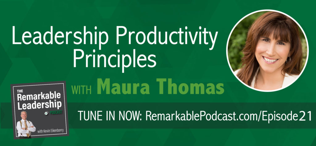 Do you feel like it's an everyday battle just to accomplish anything on your to-do list? You aren't alone! In today's episode, we explore productivity and it's role in today's non-stop culture with author, productivity trainer, and the developer of the acclaimed Empowered Productivity™ System, Maura Thomas.