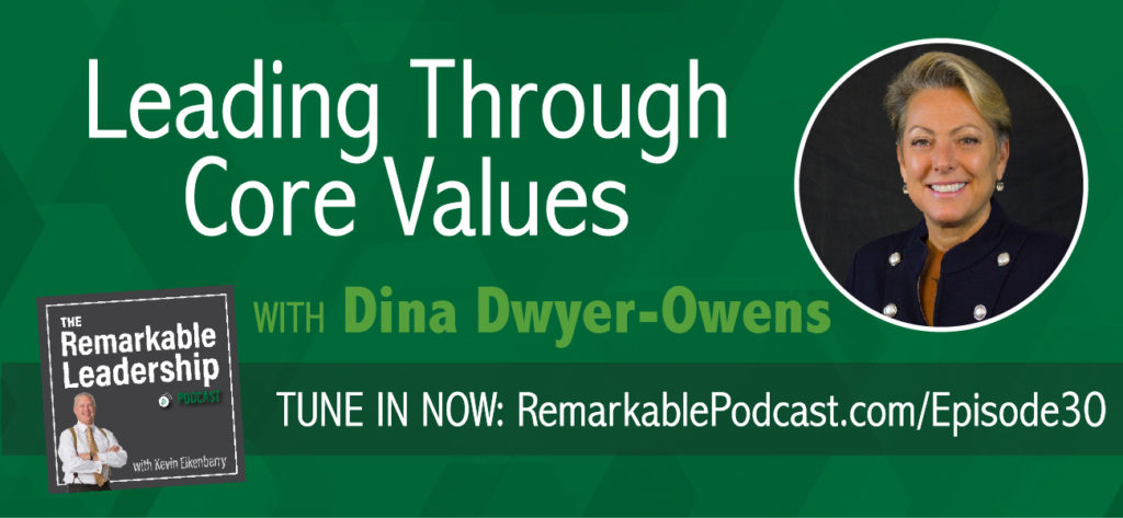 Like most companies, the Dwyer Group has an official mission statement and vision; however, unlike most companies, they also have a Code of Values that each employee is urged to know and follow by heart. (Associates even carry a Code of Values card so that they think about them at all times!) In this episode, Dina Dwyer-Owens talks about how putting company culture and values front and center translated to massive success, growing a small, one brand business into a national success with 11 service-based organizations with more than 2,500 franchises in 11 countries.