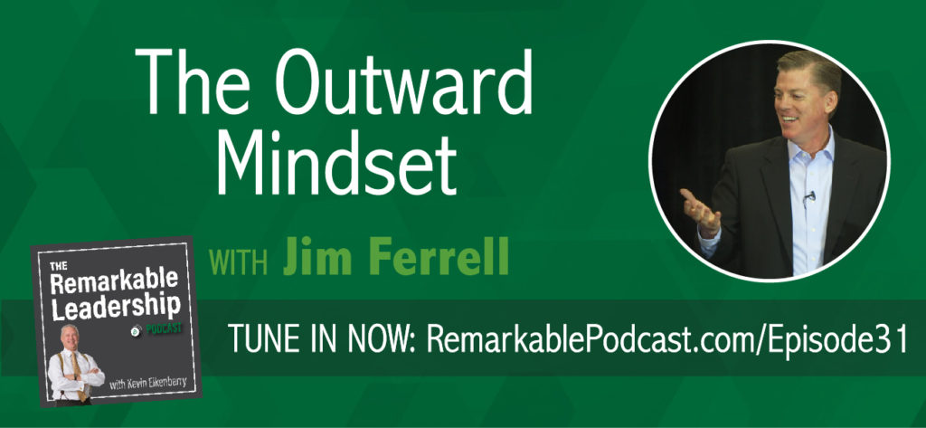 For over 30 years, Arbinger has dedicated themselves to researching and exploring the power of mindset and understanding human motivation. In this episode,  Jim Ferrell explains the difference between inward and outward mindset and shares some of their research on how the mindset we choose can ultimately determine our success as leaders. He'll share resources to help determine your mindset as well as how to manage and lead those who are different from you.