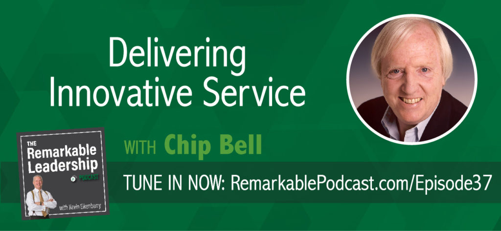 """I love to see people impacted by a great experience"", says Chip Bell, a renowned keynote speaker and the author of several best-selling books. In this episode, Kevin and Chip discuss some differences between customer service and innovative service. Further, how you can move from just value added to value unique and create a story for your customers to tell."