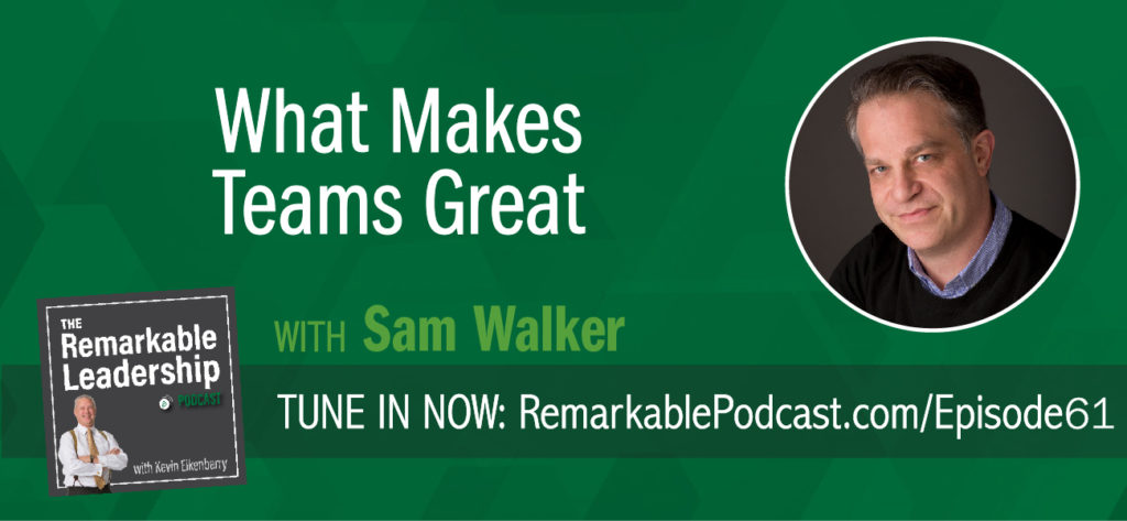 What started as a simple article about the greatest sports teams turned into a more meaningful look at how to evaluate greatness and leadership. It also took Sam Walker 12 years and 300 pages to define criteria, research teams, and publish The Captain Class. Regardless of whether you consider yourself a sports fan, Sam and Kevin discuss leadership principles across the board. Sam also provides some tips or ideas on how to find the leader in your room.