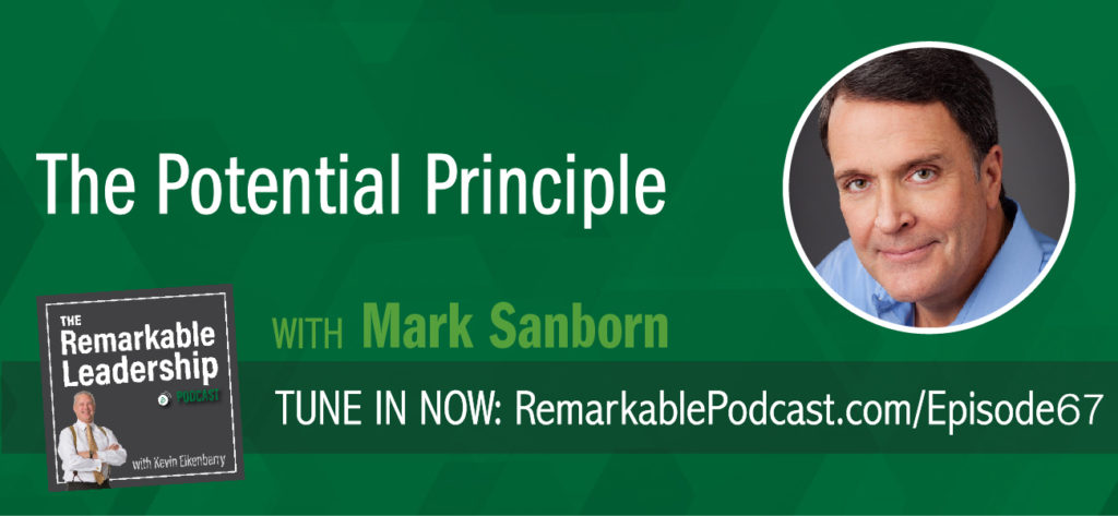 Improvement is not linear. We get better and we hit a plateau. Further, it becomes difficult to find the resources to help us get better. Mark Sanborn, president of Sanborn & Associates, Inc., an idea studio dedicated to developing leaders in business and in life and author joins Kevin to discuss potential and results. His latest book, The Potential Principle, focuses on closing the gap between how good you are now and how good you can be.