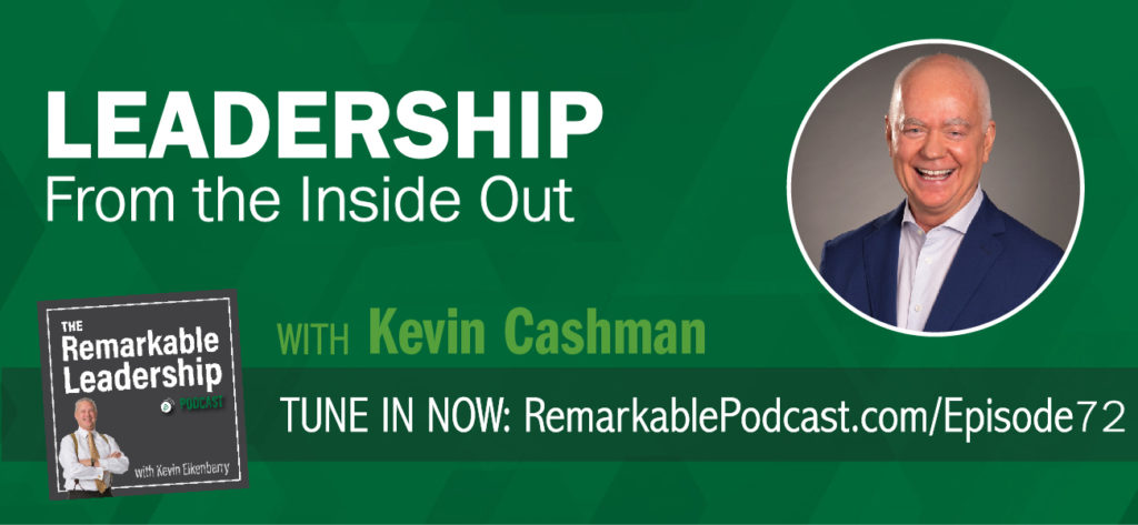 "Your leadership path should be a journey of purpose; the intersection of your gifts and how those gifts can serve others. Kevin Cashman, best-selling author, global thought leader and CEO Coach, joins Kevin to discuss growth; both personal and leadership. He also offers insight into the 3rd Edition of Leadership From the Inside Out, originally published 20 years ago. In today's world, so-called soft skills no longer can be dismissed as ""nice-to-haves."" His research shows they are foundational for high performance and enduring value creation."