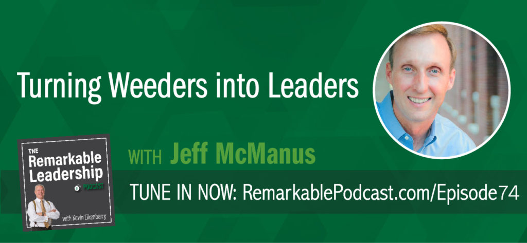 Gallup says 51% of the workforce is not engaged. Jeff McManus joins Kevin to discuss how you get your people on board and excited. Jeff is the Director of Landscape Services at the University of Mississippi and the author of Growing Weeders Into Leaders. He shares his experience of managing a multi-million-dollar landscaping beautification implementation project with minimal resources. He knew that growing the mindset of his team would be critical to results.