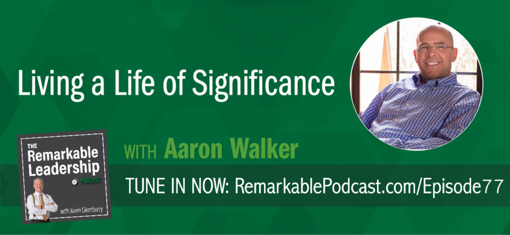 Aaron Walker started his first business at 18 and selling to a Fortune 500 company nine short years later. Having a strong desire for personal development has kept Aaron in a weekly mastermind group for more than a decade with Dave Ramsey, Dan Miller, Ken Abraham and seven other notable Nashvillians. Aaron joins Kevin to discuss not only his new book, View From The Top, but to share examples of leading with a growth mindset. His philosophy is that an effective leader encourages others to get what they want.