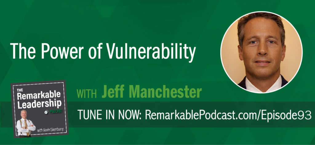 The height of your team's performance is directly related to the depth of connection among its members. Jeff Manchester, co-author of THE POWER OF VULNERABILITY: How to Create a Team of Leaders by Shifting INward, discusses vulnerability in the workplace. To see greater results, we need to develop a culture that builds in confidentiality.
