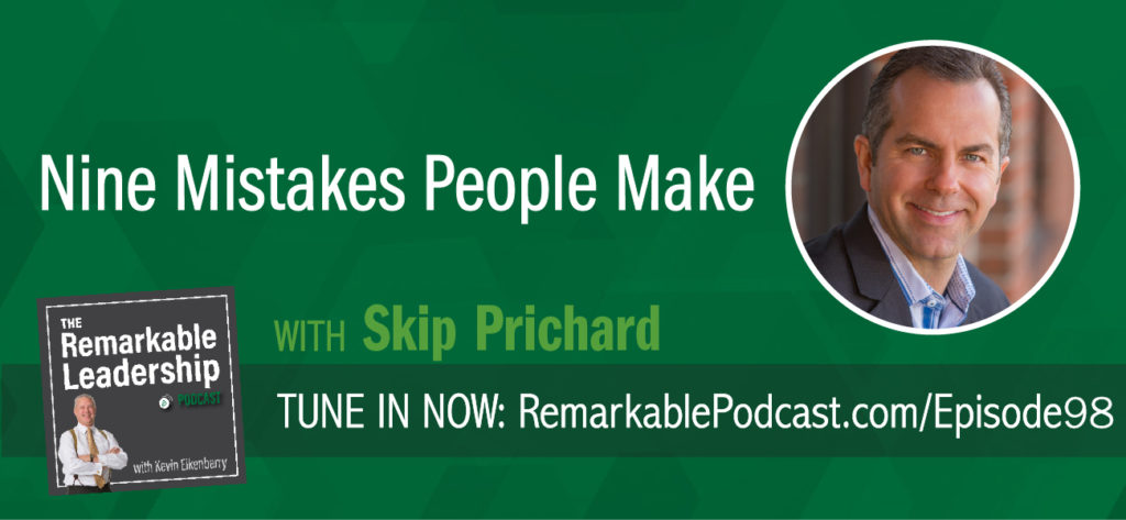 Not all mistakes are created equal. Skip Prichard is the President & CEO of OCLC, a global nonprofit computer library service and research organization. He is also the author of The Book of Mistakes: 9 Secrets to Creating a Successful Future. Through observation and research, Skip shares stories of mistakes we make that limit our potential. You have the choice to decide how you reach and where you want to go.