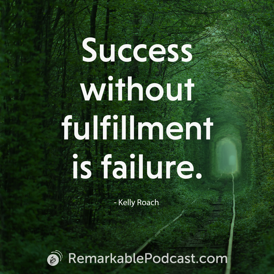 Success without fulfillment is failure.