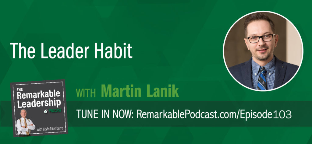 Leadership is about behaviors. Martin Lanik a Ph.D. in industrial/organizational psychology and author of The Leader Habit had an a-ha moment years ago after he read a study that said more money was being spent on leadership development, yet there was less confidence in leading. As a scientist, he researched 800 leaders to come up with 22 core leadership skills and the micro-behaviors that leaders possess. In the Leader Habit, Martin shares 5-minute exercises that can turn anyone into an effective leader