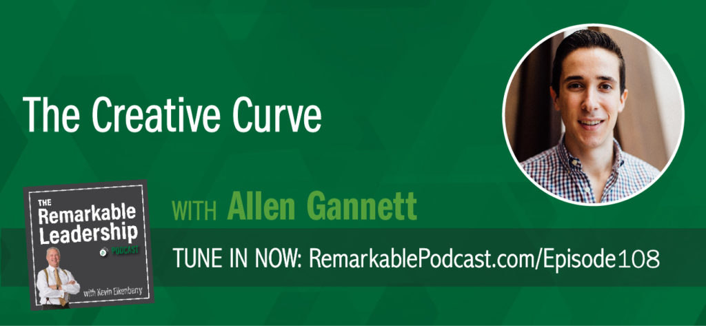 """Research shows us that creativity is not for a select few. 40% of the population has the same creative potential. So, who becomes the next big tech genius, author, producer…? Allen Gannett, author of The Creative Curve: How To Develop the Right Idea, At the Right Time, shares the truth about creative success. Allen explains the mechanics of what he calls the ""the creative curve"" – the point of optimal tension between what is familiar and what is new. Creative people don't just consume content, they are deliberate. As a bonus, Allen shares some tips if you find yourself on The Wheel of Fortune."""