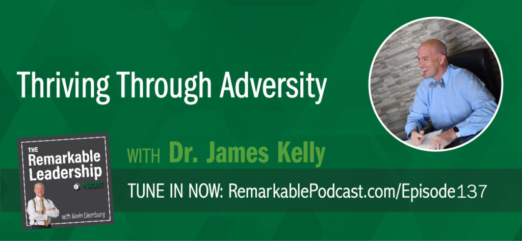 Dr. James Kelley believes there are defining events that cause a fundamental shift in the way leaders (and all of us) do things. This is a crucible moment. James is the author of Crucible's Gift: 5 Lessons from Authentic Leaders Who Thrive in Adversity. For the book, he interviewed over 140 executives from around the world to learn how leaders transform their leadership style after moments of difficulty. James and Kevin dig deeper into adversity, learning, and how these moments cause us to be a better version of ourselves.