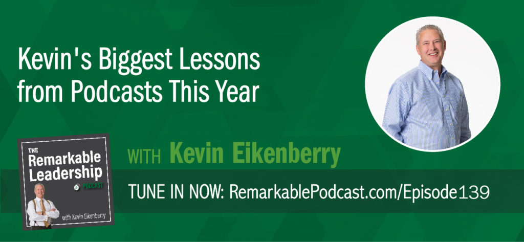 """As we kick off 2019, Kevin steps back and reflects on 2018. His guests included a billionaire, Super Bowl winner, NFL Cheerleader, multiple best-selling authors including Seth Godin, Jeffrey Gittomer and Tom Peters who measure in millions of book sales. He shares some general observations from the interviews, as well as those ""nuggets"" he has applied in both his personal and professional life. Let us know what you have learned. What is your ""Now What""?"""