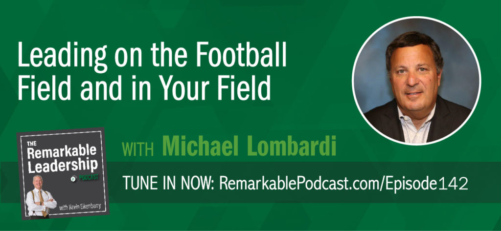 The best organizations are not just employing players, they are building something bigger. Their leaders are intentionally creating a culture and continuing to drive and maintain that culture. Kevin sits down with Michael Lombardi, most recently on the coaching staff for Bill Belichick in the New England Patriots' front office, after thirty years working for the San Francisco 49ers, the Oakland Raiders, and the Cleveland Browns (where he was general manager for two years). He shares his thoughts about what makes football organizations tick at the championship level in his book, Gridiron Genius. Although the book focuses on the business of the NFL, Kevin and Michael discuss leadership principles, applicable everywhere. As a leader, you need to understand why you are in that position and help your people visualize success.