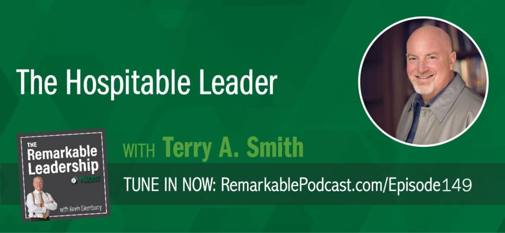 Hospitable leadership is about creating an environment where you lead more effectively because you are leading with authenticity. Terry A. Smith has served as lead pastor of The Life Christian Church (TLCC) for twenty-seven years. He is also the author of The Hospitable Leader. Terry is passionate about challenging, developing, and encouraging leaders, whether they know they are leaders or not. Kevin and Terry discuss the idea of being welcoming and how our communication becomes more effective when we find commonality and listen before moving straight to the message.