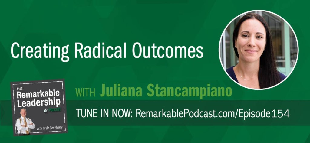 Most organizations jump right in with the design of a product/content…often missing the WHY. Kevin sits down with Juliana Stancampiano, CEO of Oxygen and author of Radical Outcomes: How to Create Extraordinary Teams that Get Tangible Results. Kevin and Juliana discuss education in the workplace. They believe that in order to achieve great results, you need to move beyond information overload and focus on the business outcomes. It's about creating a culture of learning and thinking about the content as an experience.