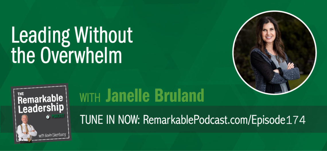 What are you sacrificing for your career? Does this lead to greater success? Janelle Bruland joins Kevin to discuss her book The Success Lie: 5 Simple Truths to Overcome Overwhelm and Achieve Peace of Mind. Janelle challenges leaders to become more aware. They need to determine if they are on automatic pilot, in both business and their personal life. All of us can recognize we are succeeding and where we need help. To be truly successful you need to be intentional about your values and priorities.