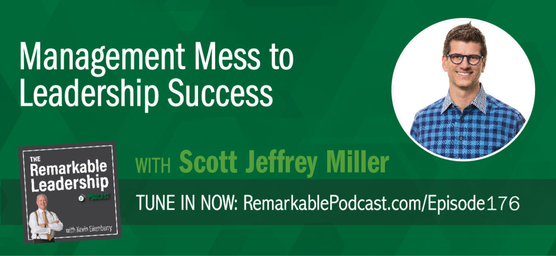 Not only is it a messy world, but we also have blind spots to some of the chaos surrounding us. So how do we move past the mess to success? Scott Jeffrey Miller joins Kevin to discuss vulnerability, self-awareness, and feedback. Scott has spent 23 years with FranklinCovey and serves as the executive vice president of thought leadership. In addition, he is the author of Management Mess to Leadership Success: 30 Challenges To Become The Leader You Would Follow. The book is divided into challenges that leaders can apply to change the way they lead and produce greater results. The big takeaway is Scott believes that vulnerability is a new leadership competency. Leaders don't need to have all the answers, however, they do need to know when to be confident, like in times of change or crisis.