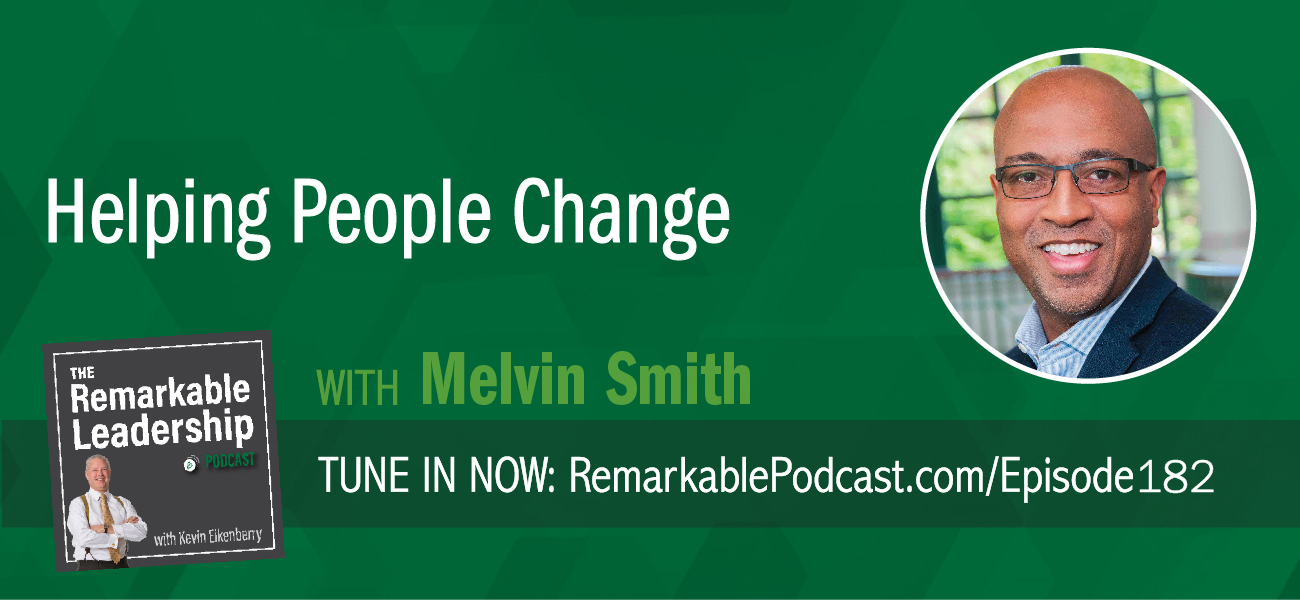 If you lead a department, a team, or a person (or family), you have probably had a coaching moment. Kevin is joined by Melvin Smith, co-author of Helping People Change: Coaching with Compassion for Lifelong Learning and Growth. Often, we coach to fix something or fill a learning gap. When we coach for compliance, however, we trigger a physiological response that leads to defensiveness and our feedback works against us. Melvin believes we need to start with the person and find out what they want to do/be. We want to trigger a positive physiological response, which opens people up to more creative thinking and sustainable change.