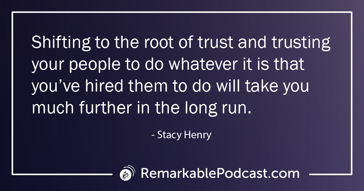 Quote Image: Shifting to the root of trust and trusting your people to do whatever it is that you've hired them to do will take you much further in the long run.